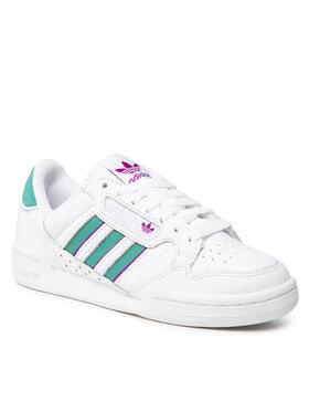 adidas adidas Pantofi Continental 80 Stripes W H04020 Alb