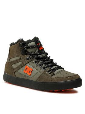 DC DC Laisvalaikio batai Pure High-Top Wc Wnt ADYS400047 Žalia