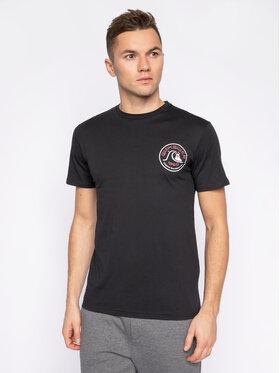 Quiksilver Quiksilver T-Shirt Close Call EQYZT05749 Czarny Regular Fit