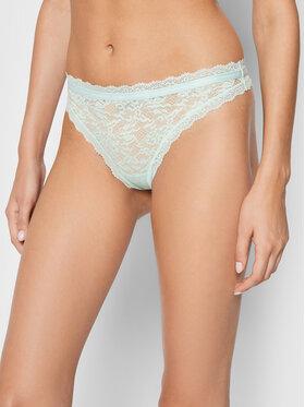 Calvin Klein Underwear Calvin Klein Underwear Stringové nohavičky 000QF6202E Zelená