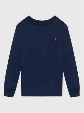 Polo Ralph Lauren Polo Ralph Lauren Μπλουζάκι Ls Cn 323843804002 Σκούρο μπλε Regular Fit