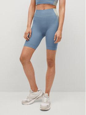 Mango Mango Pantaloni scurți sport Lucia 17070145 Albastru Slim Fit