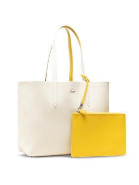 Lacoste Lacoste Torebka Shopping Bag NF2142AA Żółty