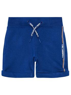 KARL LAGERFELD KARL LAGERFELD Pantaloni scurți sport Z24108 M Albastru Regular Fit