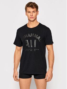 Henderson Henderson T-Shirt Muhammad Ali™ Cassius 39004 Czarny Regular Fit