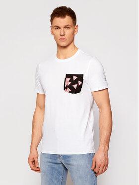 Guess Guess T-shirt Multitude M0YI59 I3Z11 Bianco Slim Fit