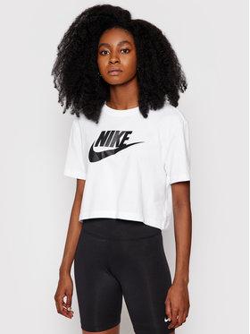 Nike Nike Marškinėliai Sportswear Essential BV6175 Balta Loose Fit