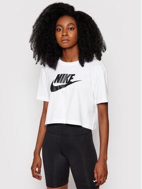 Nike Nike T-Shirt Sportswear Essential BV6175 Bílá Loose Fit