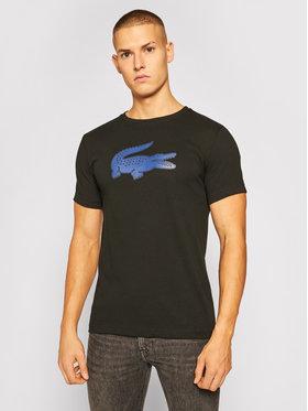 Lacoste Lacoste T-Shirt TH2042 Czarny Regular Fit