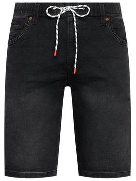 Pepe Jeans Pepe Jeans Pantalon scurți din material GYMDIGO Jagger PM800840 Negru Regular Fit