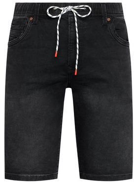 Pepe Jeans Pepe Jeans Stoffshorts GYMDIGO Jagger PM800840 Schwarz Regular Fit