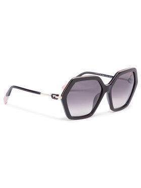 Furla Furla Okulary przeciwsłoneczne Sunglasses SFU460 WD00003-ACM000-O6000-4-401-20-CN-D Czarny