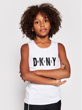 DKNY DKNY Τοπ D35R21 S Λευκό Regular Fit