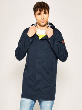 Save The Duck Save The Duck Giacca impermeabile D4620M BARKX Blu scuro Regular Fit