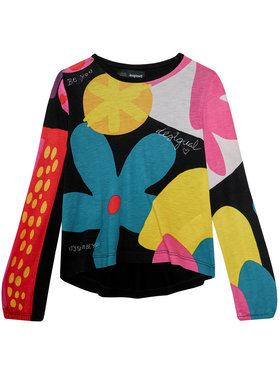 Desigual Desigual Bluză Crawley 20WGTK60 Colorat Regular Fit