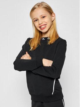 Calvin Klein Jeans Calvin Klein Jeans Sweatshirt Monogram Stretch IG0IG00830 Schwarz Regular Fit
