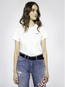 My Twin My Twin T-Shirt 201MP232B Biały Slim Fit