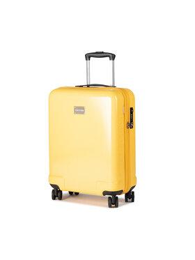 Puccini Puccini Kis kemény borítású bőrönd Panama PC029C Sárga