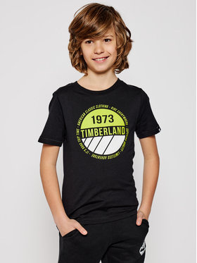 Timberland Timberland T-shirt T45817 Nero Regular Fit