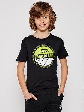 Timberland Timberland Tričko T45817 Čierna Regular Fit