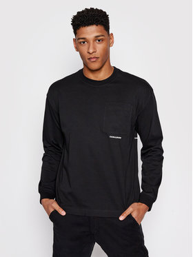 Calvin Klein Jeans Calvin Klein Jeans Longsleeve J30J317292 Μαύρο Regular Fit