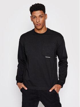 Calvin Klein Jeans Calvin Klein Jeans S dlhými rukávmi J30J317292 Čierna Regular Fit