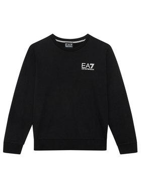 EA7 Emporio Armani EA7 Emporio Armani Sweatshirt 6KBM51 BJ05Z 1200 Schwarz Regular Fit