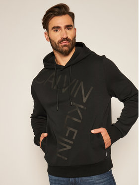 Calvin Klein Calvin Klein Felpa Bold Logo K10K105593 Nero Relaxed Fit