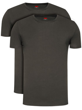 Levi's® Levi's 2 marškinėlių komplektas 905055001 Juoda Regular Fit