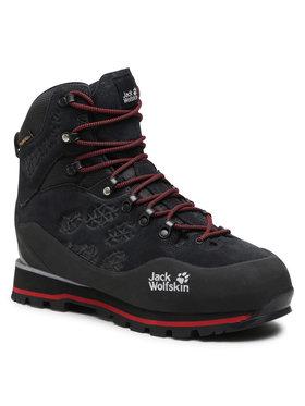 Jack Wolfskin Jack Wolfskin Trekingová obuv Wilderness Peak Texapore Mid M 4035261 Čierna