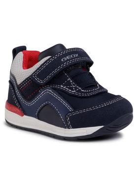 Geox Geox Laisvalaikio batai B Rishon B. A B040RA 0AU54 C0661 Tamsiai mėlyna