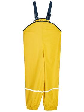 Playshoes Playshoes Kalhoty z materiálu 405424 D Žlutá Regular Fit