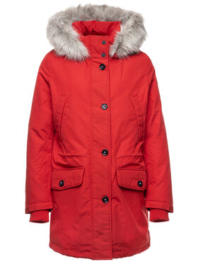 Tommy Hilfiger Tommy Hilfiger Parka Nova Authentic WW0WW25741 Rosso Regular Fit