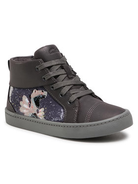 Clarks Clarks Обувки City Myth K 261552087 Сив