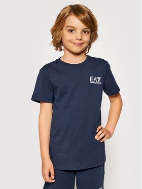 EA7 Emporio Armani EA7 Emporio Armani T-shirt 3KBT51 BJ02Z 1554 Tamnoplava Regular Fit