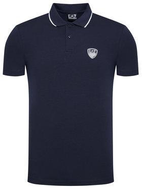 EA7 Emporio Armani EA7 Emporio Armani Polo marškinėliai 3KPF05 PJ03Z 1554 Tamsiai mėlyna Regular Fit