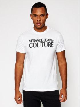 Versace Jeans Couture Versace Jeans Couture T-Shirt B3GWA7TA Biały Slim Fit
