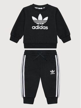 adidas adidas Trening Crew Sweatshirt ED7679 Negru Regular Fit