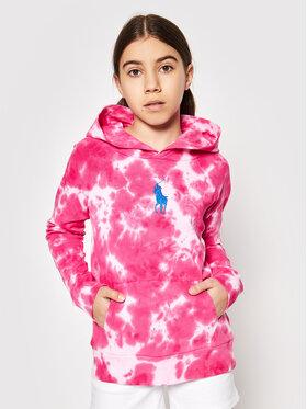 Polo Ralph Lauren Polo Ralph Lauren Μπλούζα Terry 313833555003 Ροζ Regular Fit