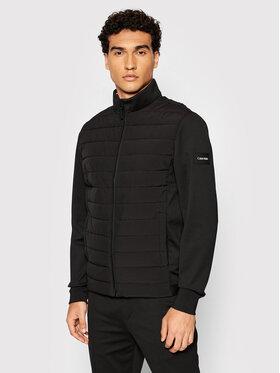 Calvin Klein Calvin Klein Pūkinė striukė Quileted K10K106472 Juoda Slim Fit