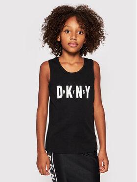 DKNY DKNY Marškinėliai D35R21 S Juoda Regular Fit