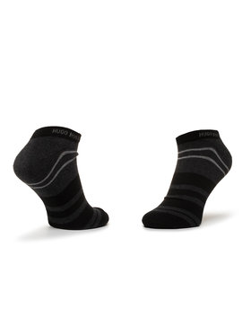 Boss Boss Sada 2 párů nízkých ponožek unisex 2P As Stripe Cc 50425490 Černá