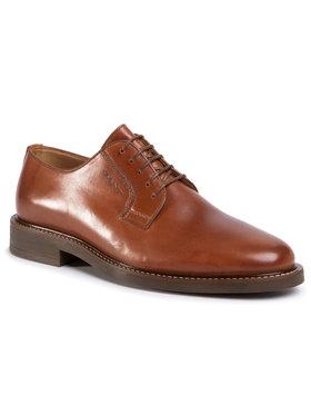 Gant Gant Κλειστά παπούτσια St Akron 20631469 Καφέ