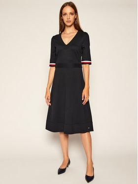 TOMMY HILFIGER TOMMY HILFIGER Ежедневна рокля Punto Milano WW0WW28384 Тъмносин Regular Fit