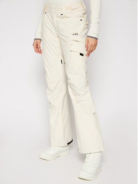 Billabong Billabong Lyžiarske nohavice Nela U6PF21 BIF0 Béžová Performance Fit