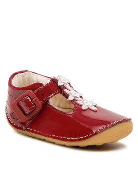 Clarks Clarks Обувки Tiny Flower T 261624586 Бордо
