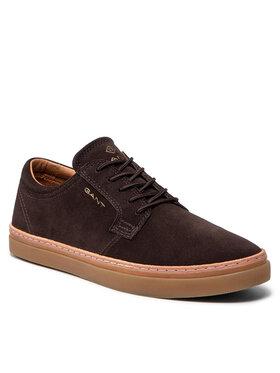 Gant Gant Sneakersy Prepville 23633061 Hnedá