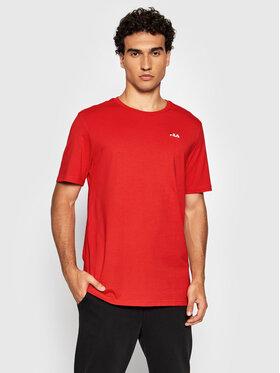Fila Fila T-Shirt Edgar 689111 Červená Regular Fit
