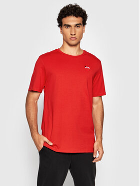 Fila Fila T-shirt Edgar 689111 Rosso Regular Fit