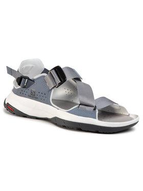 Salomon Salomon Sandály Tech Sandal W 410460 20 M0 Šedá